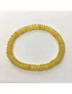 Mat Limon Renk Disk Kesim Bileklik Büyük Boy 0185