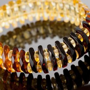 Renk Geçişli Degrade Tasarım Ürünü Gerdanlık Kolye Büyük Boy 0160